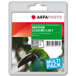 AgfaPhoto APB223SETD ink cartridge Black, Cyan, Magenta, Yellow