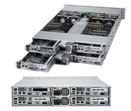 Supermicro 2022TG-H6IBQRF AMD SR5690 Socket G34 Rack (2U) Black