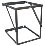 Tripp Lite 8U / 12U / 22U SmartRack Expandable Low-Profile Wall-Mount 2-Post Open-Frame Rack UPS-Depth