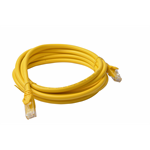 8WARE Cat 6a UTP Ethernet Cable, Snagless - 3m Yellow