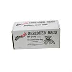 FSMISC SAFEWRAP SHREDDER BAGS 40 LITRE PK100