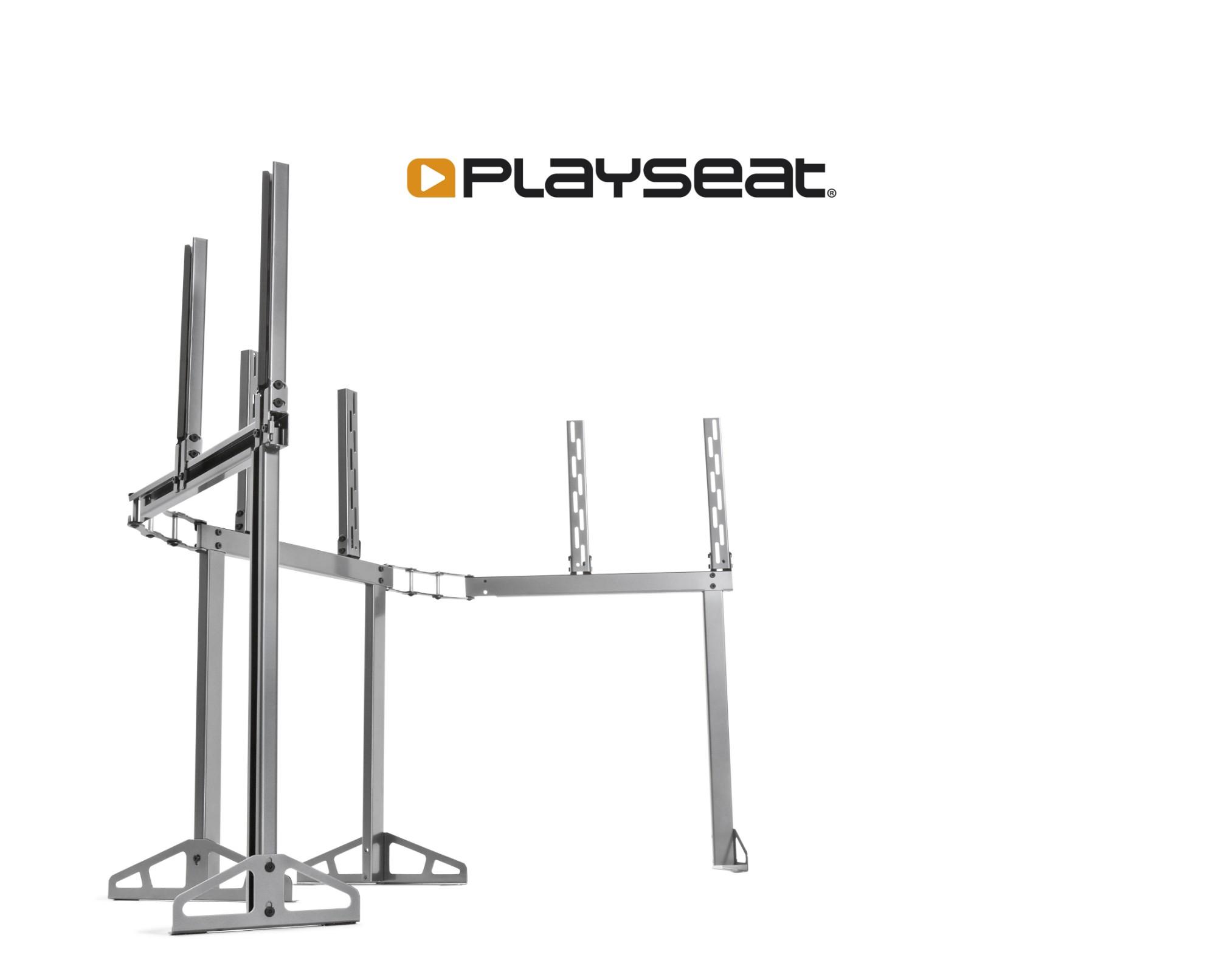 Playseat TV Stand – PRO-3S Fixed flat panel floor stand Grey,Metallic