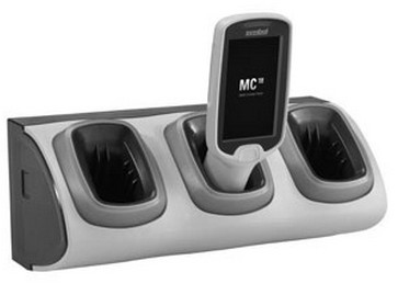 Zebra CRD-MC18-3SLOTH-01 cargador de dispositivo móvil Interior Gris