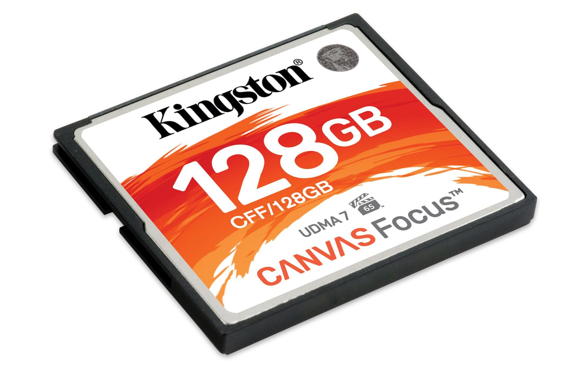 128GB Canvas Focus Compactflash Card