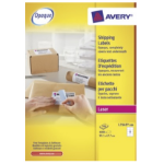 Avery L7165-500 self-adhesive label White 4000 pc(s)