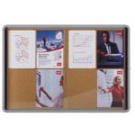 Nobo Internal Glazed Case Cork 12xA4