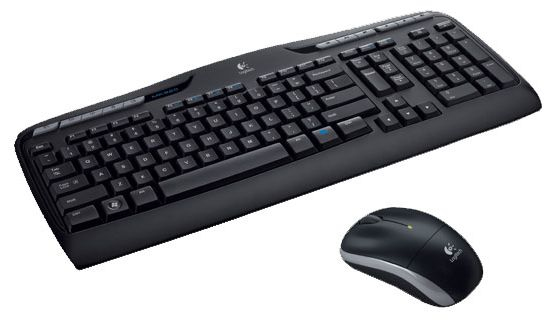 Logitech MK330 RF Wireless QWERTZ Hungarian Black