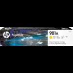 HP 981A Origineel Geel