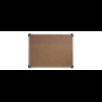 QUARTET PENRITE CORKBOARD ALUMINIUM FRAME 900X1200MM S/L