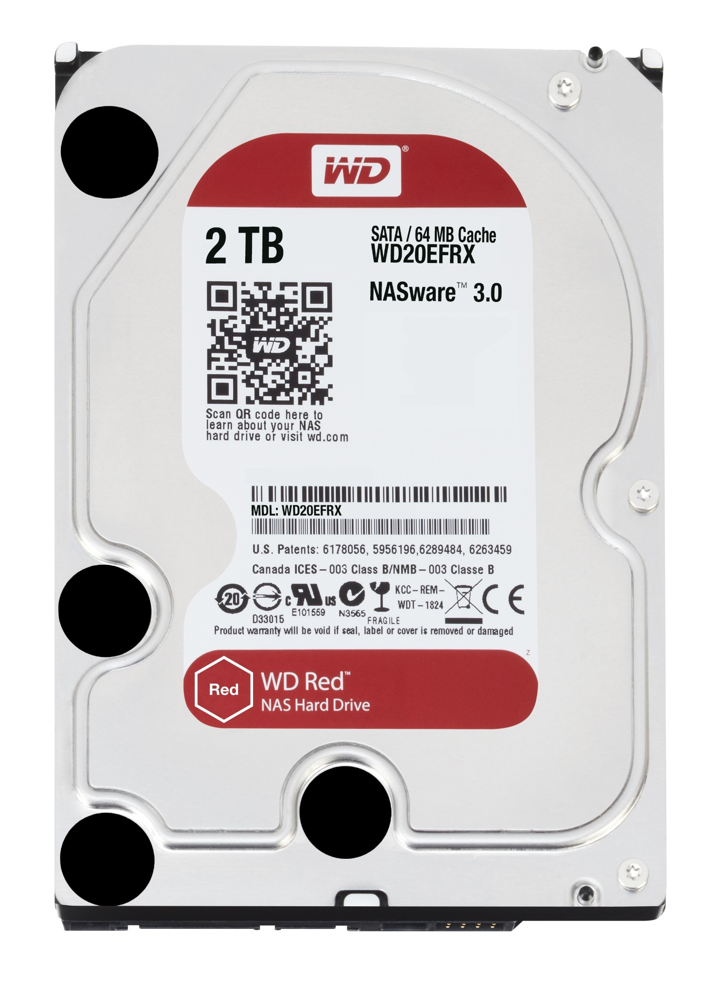"Western Digital Red 3.5"" 2000 GB SATA III"