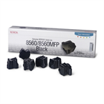 108R00727 - Pack of 6 BLACK XEROX ink sticks for Phaser 8560 (6,800 pages)