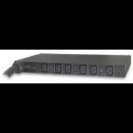 Rack PDU, Basic, 1U, 14.4kW, 208V, (6) C18