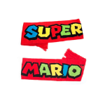 Nintendo Super Mario Bros. Knitted Scarf, One Size, Red (KS180201NTN)