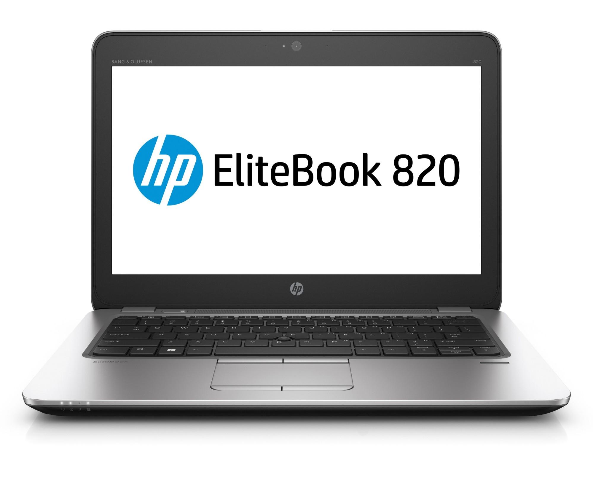 """HP EliteBook 820 G3 Silver Notebook 31.8 cm (12.5"""") 1920 x 1080 pixels 6th gen Intel® Core™ i7 i7-6500U 8 GB DDR4-SDRAM 256 GB SSD Windows 10 Pro"""