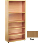 JEMINI FF JEMINI 1800MM BOOKCASE 4SHELF OAK