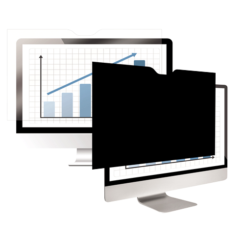 """Fellowes 4818501 27"""" Monitor Frameless display privacy filter"""