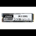Kingston Technology KC2000 internal solid state drive M.2 2000 GB PCI Express 3.0 3D TLC NVMe