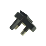 2-Power ALT21246A electrical power plug Black