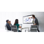 "Cisco Spark Board 55 interactive whiteboard 139.7 cm (55"") Touchscreen 3840 x 2160 pixels Black HDMI"