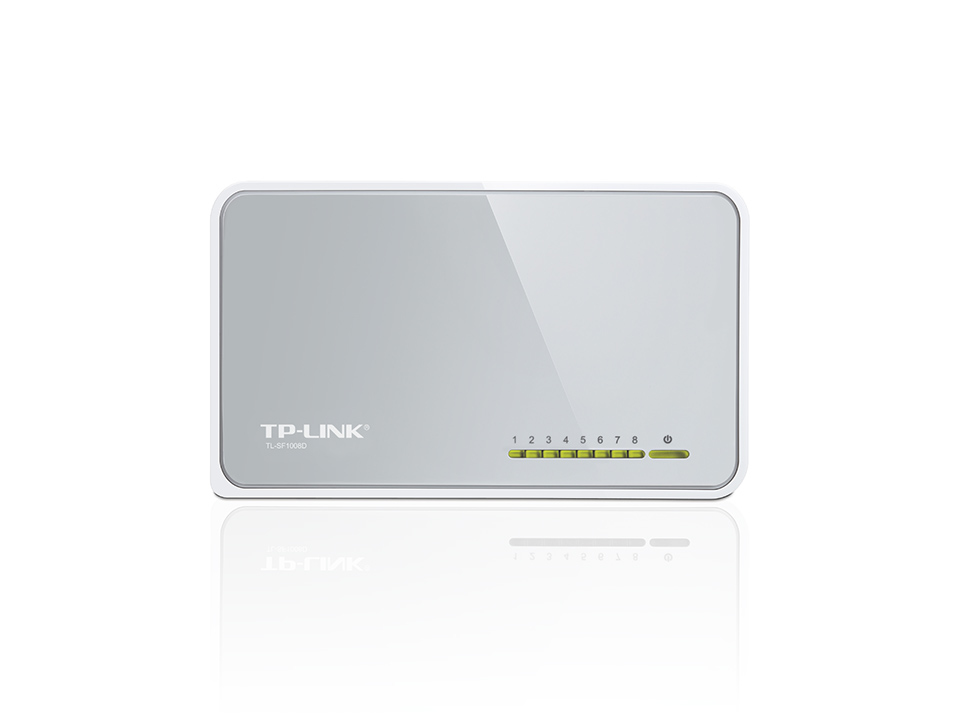 TP-LINK 8-Port 10/100Mbps Desktop Switch Unmanaged White