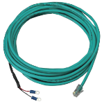 "Black Box EME1K1-015 signal cable 179.9"" (4.57 m) Green"
