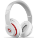 Apple Beats Studio Over-Ear Headphones - White, By Dr. Dre, Official by Apple, (MH7E2B/A)