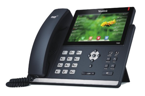 Yealink SIP-T48S IP phone Black Wired handset LCD 16 lines