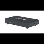 Manhattan 207829 AV transmitter Black AV extender