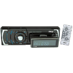 Pyle PLR38I 200W Black car media receiver