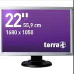 """Wortmann AG Terra 2230W, Greenline Plus LED display 55.9 cm (22"""") Black,Silver"""