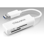 Aluratek AUCR300F card reader White USB 3.0