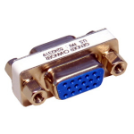 Cables Direct 88AD-122 VGA VGA Gold cable interface/gender adapter