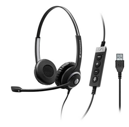 Sennheiser SC 260 USB CTRL II Binaural Head-band Black