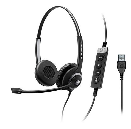 Sennheiser SC 260 USB CTRL II Binaural Head-band Black headset