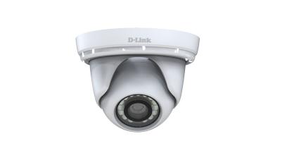 D-Link DCS-4802E IP security camera Indoor & outdoor Dome White 1920 x 1080pixels