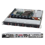 Supermicro SC113TQ-600CB Rack 600W Black