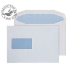 Blake Purely Everyday White Window Gummed Mailer C5+ 162X235mm 90gsm (Pack 500)