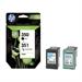 HP SD412EE (350+351) Printhead multi pack, 200 pg + 170 pg, Pack qty 2