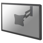 "Newstar TV/Monitor Wall Mount (Full Motion) for 10""-27"" Screen - Silver"