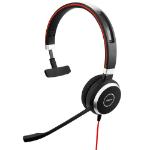 Jabra Evolve 40 UC Mono Headset Hoofdband Zwart