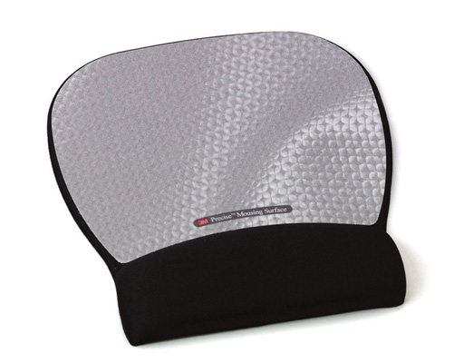 3M Precise Mousing Surface with Fabric Gel Wrist-Rest - (MW311MX)