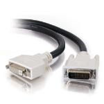 C2G 2m DVI-D Dual Cable DVI cable Black