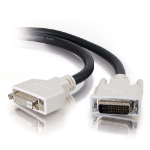 C2G 2m DVI-D Dual Cable 2m DVI-D DVI-D Black DVI cable