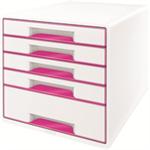 Leitz 52141023 Polystyrene Pink,White desk drawer organizer