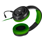Corsair HS35 Headset Head-band Black,Green