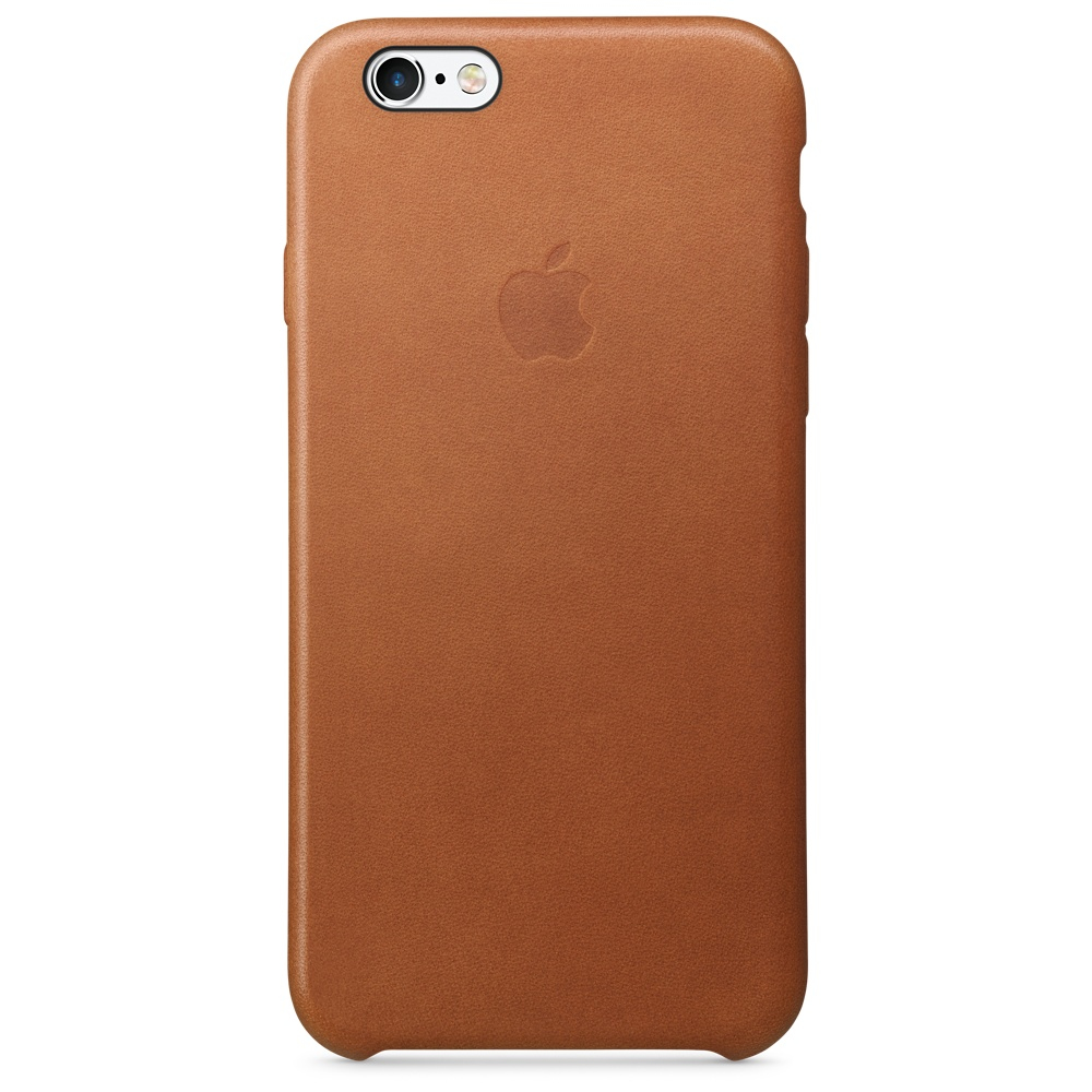 Apple iPhone 6s Leather Case - Saddle Brown