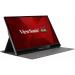 "Viewsonic VG Series VG1655 LED display 40.6 cm (16"") 1920 x 1080 pixels Full HD Silver"