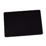 Durable 710201 desk pad Black
