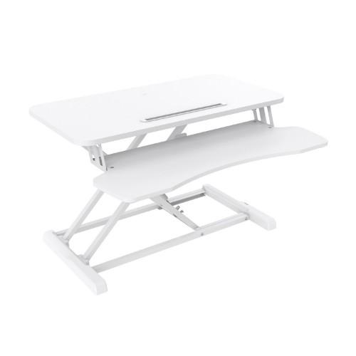 V7 DT2SSW Sit Stand Essential Desktop - White
