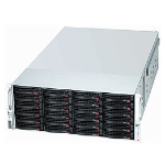 Supermicro 847E1C-R1K28JBOD Rack Black 1280 W